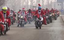 Mikołajowy orszak przejechał przez...