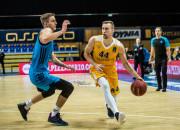 Koszykarze Arki ulegli Albie 64:76. Gdynia Arena pożegnała Eurocup