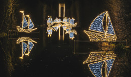 W święta iluminacje w parku Oliwskim świecić będą dłużej