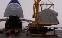 80-tonowy ładunek odleciał z Rębiechowa