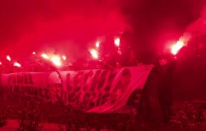Kibice i społecznicy pożegnali prezydenta na Ołowiance