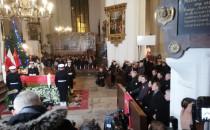 W bazylice Mariackiej odprawiono mszę w...