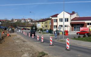 Korki na Morenie, kierowcy łamią przepisy na ul. Piekarniczej