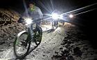 Noc, mróz i lód niestraszne trenującym kolarzom z Trigar MTB
