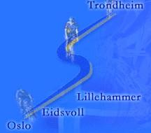 "Maraton rowerowy ""Styrkeproven"", Trondheim-Oslo, 23-24.06.2001"