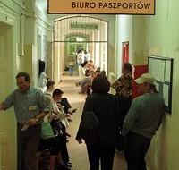 Paszporty na poczcie