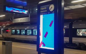 Kolejny termin uruchomienia informacji pasażerskiej we Wrzeszczu