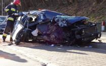 Dwie ofiary wypadku na al. Niepodległości...