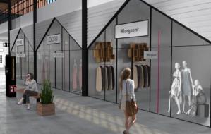 Studenckie projekty nowego wnętrza centrum handlowego