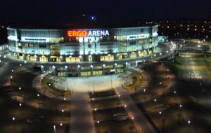 Ergo Arena: sportowy pub, sala bankietowa i kioski z jedzeniem