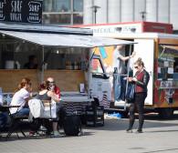 Pół setki food trucków przy Galerii Metropolia