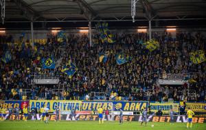 Arka Gdynia - Śląsk Wrocław na odnowionej murawie Stadionu Miejskiego