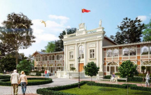 Bliżej nowego Domu Zdrojowego w Brzeźnie
