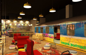 Hala restauracyjna na 600 osób w Galerii Metropolia