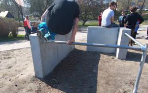 Plac do treningów parkour powstał na Witominie