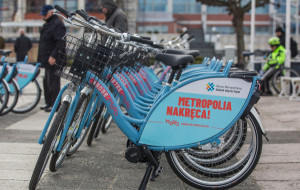 Mevo: 110 tys. wypożyczeń. Dotarło kilkadziesiąt nowych rowerów