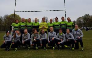 Biało-Zielone Ladies Gdańsk coraz bardziej dominują w kobiecym rugby