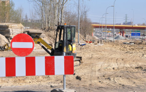Rozkopane południe Gdańska irytuje kierowców. DRMG tłumaczy
