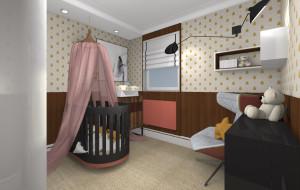 Aranżacje wnętrz. Zmiana domowego biura w pokój małego dziecka