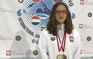 Zofia Chrzan pobiła dwa rekordy Polski w pływaniu do lat 14