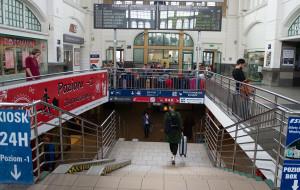 Gdańsk: dłuższa droga z dworca na perony