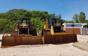 Emocje wokół poszerzenia plaży w Jelitkowie