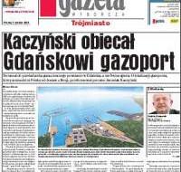Kaczyński obiecał gazoport
