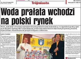 Woda prałata wchodzi na polski rynek
