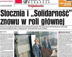 """Stocznia i """"Solidarność"""" znowu w roli głównej"""