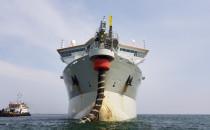 Gigantyczne pogłębiarki na Zatoce. Trwa...