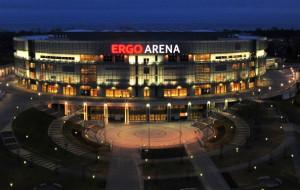 Ergo Arena przy Placu Dwóch Miast