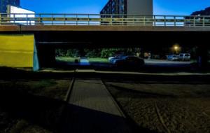 Będzie oświetlenie chodnika pod Estakadą Kwiatkowskiego