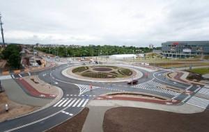 Rondo przy Ergo Arenie już otwarte