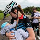 Ola Gordon - mama na podium wyścigów kolarskich