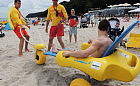 Niepełnosprawni mogą zażywać kąpieli w morzu