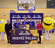 Lotto 3x3 Quest. Koszykarki z Trójmiasta mistrzyniami Polski