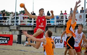 Mistrzostwa Polski w piłce ręcznej plażowej. Stadion Letni w Brzeźnie