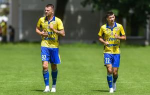 Arka Gdynia -  FC Larne  1:1 w ostatnim sparingu. Jakub Paur nie podpisał