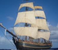 """Baltic Sail i żaglowiec z """"Piratów z Karaibów"""" w Gdańsku"""