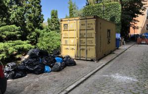 Przepełnione śmietniki zniknęły z centrum Gdańska