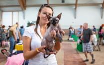 Ponad 240 kotów rasowych na wystawie na...