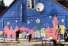 Dzieci stworzyły mural w Nowym Porcie