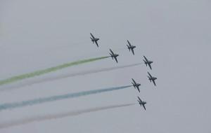 Tłumy na pokazach lotniczych Aerobaltic Gdynia