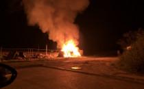Kolejny raz podpalono gdyńską Stajnię Nara