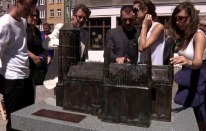 Pierwsza makieta zabytku dla niewidomych stanęła w Gdańsku