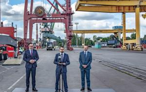 Nowa linia kontenerowa w Gdańsku