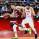 MŚ. Koszykarze przegrali ćwierćfinał z Hiszpanią. Zagrają o miejsca 5-8
