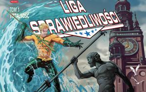 Aquaman i Green Lantern na okładkach z Gdańskiem w tle