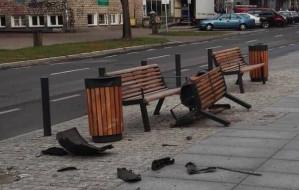 Pijany pasażer sprawcą kolizji w centrum Gdańska