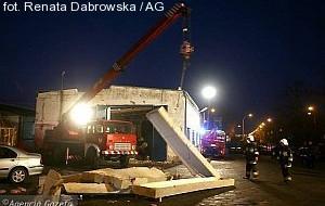 Dach zabił człowieka w Tczewie